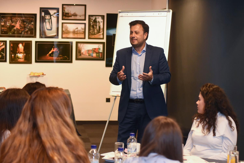 Ο εισηγητής του workshop κ. Π. Βασιλόπουλος