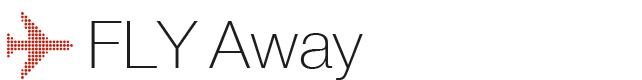 το λογότυπο της generali fly away σε κόκκινο χρώμα και λευκό φόντο