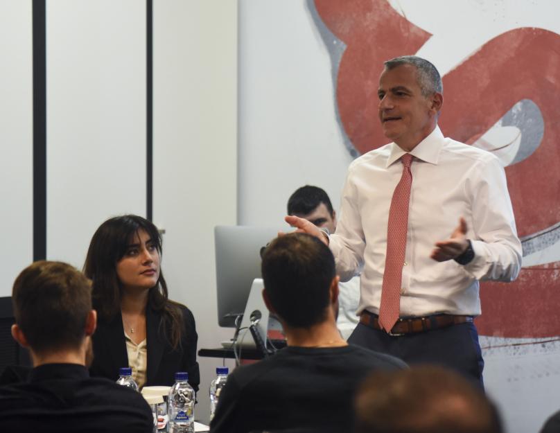 Ο CEO της Generali κ. Πάνος Δημητρίου απαντά σε ερωτήσεις